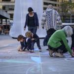 Canada, Edmonton. Oct/05/2013. Designing Downtown Makescape event.